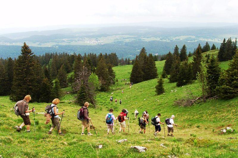 Randonnée sur les Monts Jura